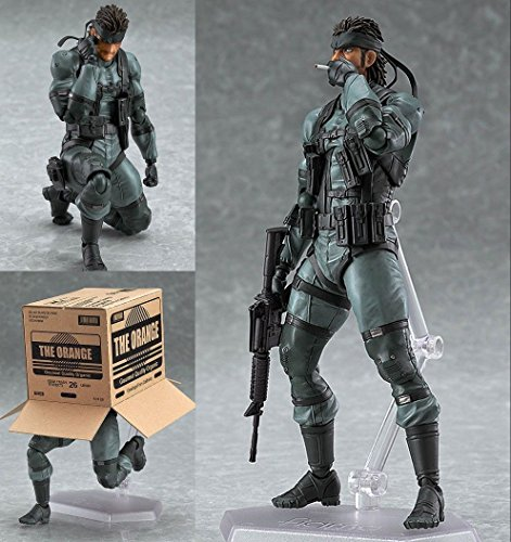 Goku Costume Near Me (Figma 243 Solid Snake Metal Gear Solid 2 PVC Action Figure In Box)