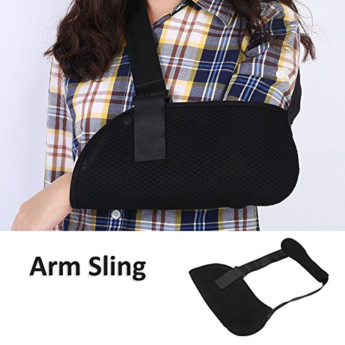 Child Arm Sling Stabilizer Shoulder Immobilizer Universal Pediatric Arm Sling Adjustable Soft Padded Shoulder Strap Shoulder Support Sling Reduces Pain & Boosts Recovery for Kids Unisex Small