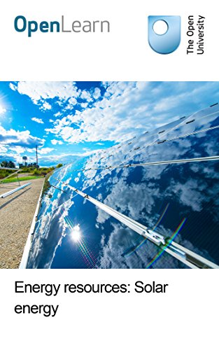Energy resources: Solar energy
