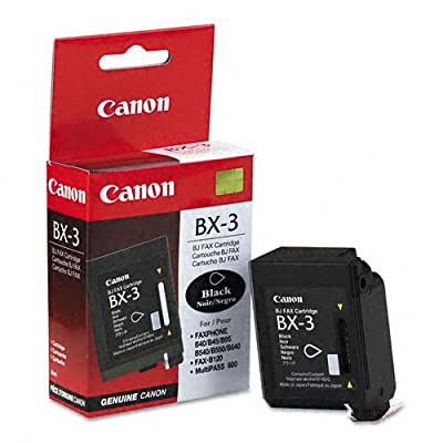 Canon : Fax Ink Ctdg BX 3 Faxphone B640 B540 B550B540 B550 -:- Sold as 2 Packs of - 1 - / - Total of 2 Each