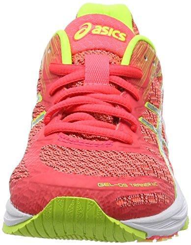 Asics ds Nc Laufschuhe Trainer Safety 22 Silver Pink Pink Damen Gel Yellow Diva FxrUqfF