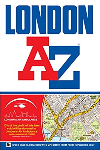 Az Street Map Of London.London Street Atlas A Z Street Atlas Amazon Co Uk Geographers