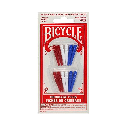 Cribbage Pegs by Bicycle (12 Pack)