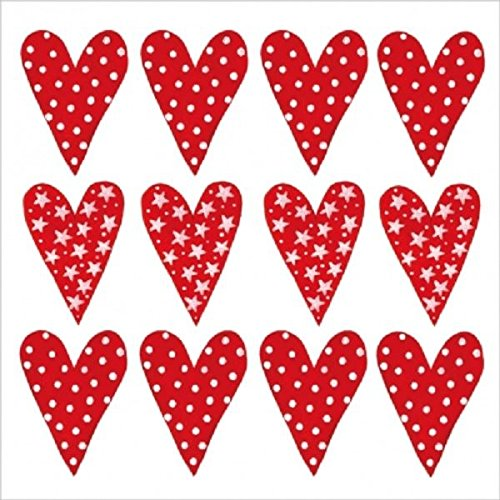 4 x Paper Napkins - Lots of love - Ideal for Decoupage / Napkin Art Crafty Things