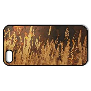 Golden Field Watercolor style Cover iPhone 5 and 5S Case (Summer Watercolor style Cover iPhone 5 and 5S Case)