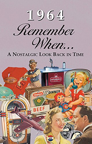 Seek Publishing 1964 Remember When KardLet (RW1964) (Corporate Birthday Gifts)