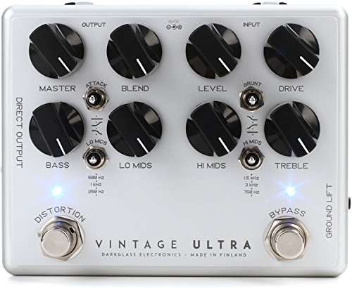 Darkglass Electronics Vintage VU Ultra Bass Distortion Effects Pedal