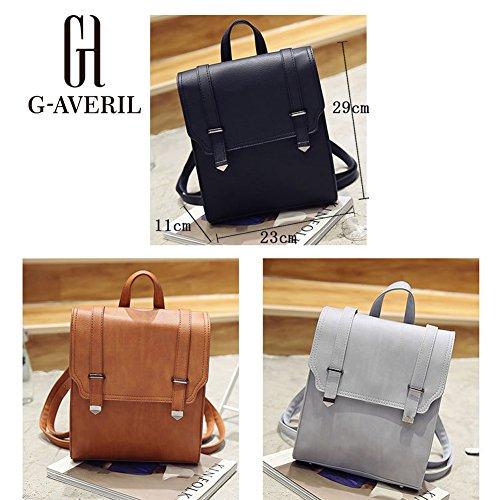 G-AVERIL GA1103-T - Bolso mochila  para mujer gris gris claro gris claro