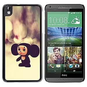 PC/Aluminum Funda Carcasa protectora para HTC DESIRE 816 Russian Cartoon Character Toy Big Ears 3D / JUSTGO PHONE PROTECTOR