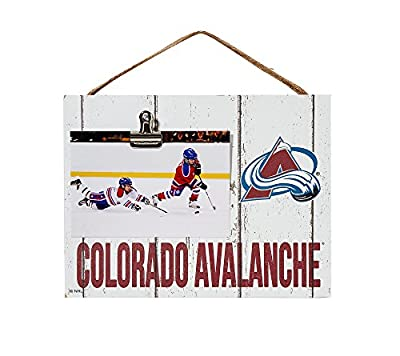 Kindred Hearts NHL Colorado Avalanche Clip It Logo Frame