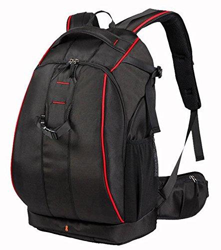 Z&HXsacchetto di spalla casuale impermeabile moda multifunzionale Fotografia borse fotocamera reflex , red edge