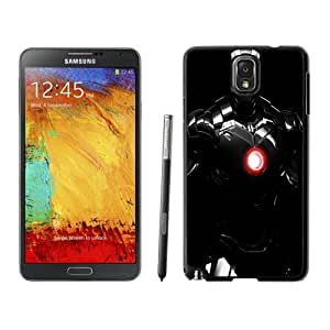 NEW Unique Custom Designed For Case HTC One M8 Cover Phone Case With Iron Man Black Armour_Black Phone Case