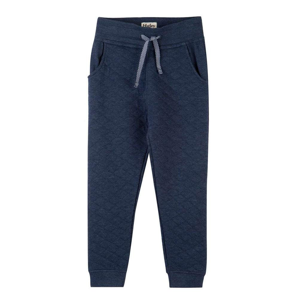 Hatley Joggers Navy Quilted