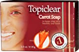 Topiclear Carrot Soap 3 oz. (Pack of 2)