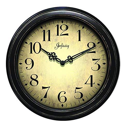 Infinity Instruments Precedent Wall Clock