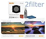 NiSi V5 PRO 100mm Starter Kit 1 Includes - V5 Pro Holder, Glass 4x6 Multi-coated 0.9 Soft Edge Grad ND and Glass 4x4 Multicoated IR ND1000 10-Stop (3.0) Filter with 2filter cleaning kit!