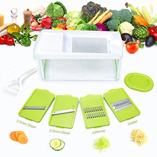 Mandoline Slicer,TAPCET Multi-function Food Slicer, Mando...