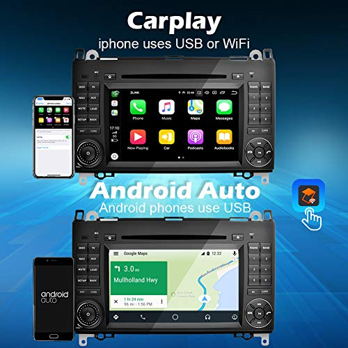 Ohok 2 Din Autoradio 7 Pulgadas Android 90 Pie Octa Core 4g32gb Rom Reproductor Dvdgps Navegador Soporta Bluetoothwifidab Para Mercedes Benz A Classb Classvianovitosprinter