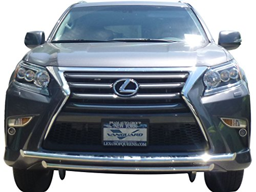 VANGUARD VGUBG-0899-1178SS 2010-2017 Lexus GX460 Front Bumper Guard Double Layer (Lexus Grill Guard)