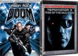 Sci-Fi Action Set - Terminator 3: Rise of the Machines (2-Disc Widescreen Edition) & Doom (Unrated Extended Edition) 2-Movie Bundle