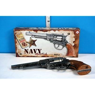 22cm marine Antik métal 8 bouchon fusil par Edison Giocattoli - jeu de rôle (BT42) [jouet] [jeu de rôle]