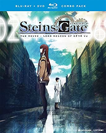 amazon com steins gate the movie load region of deja vu blu ray