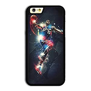 TPU iPhone 6 case protective back cover with NBA Cleveland Cavaliers No. 6 LeBron James known as King James #15