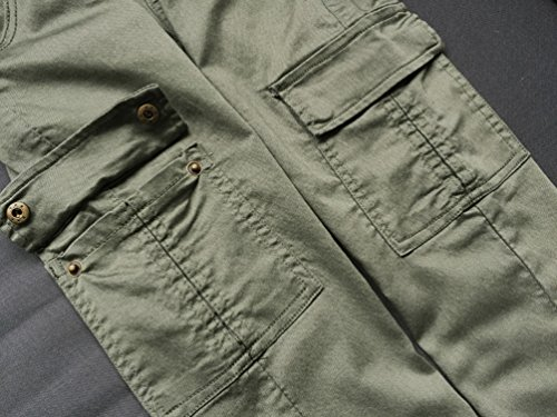 YiLianDa Mujeres Skinny Jean Denim Pantalones Leggings elásticos Jeggings Verde
