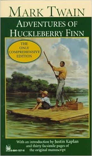 appreciation of huckleberry finn