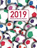 2019 Weekly & Monthly Planner: Colored Soccer Themed 12 Month, 53 Week Notebook Calendar for 2019 to 2020 (Soccer Themed Planner (Colored))