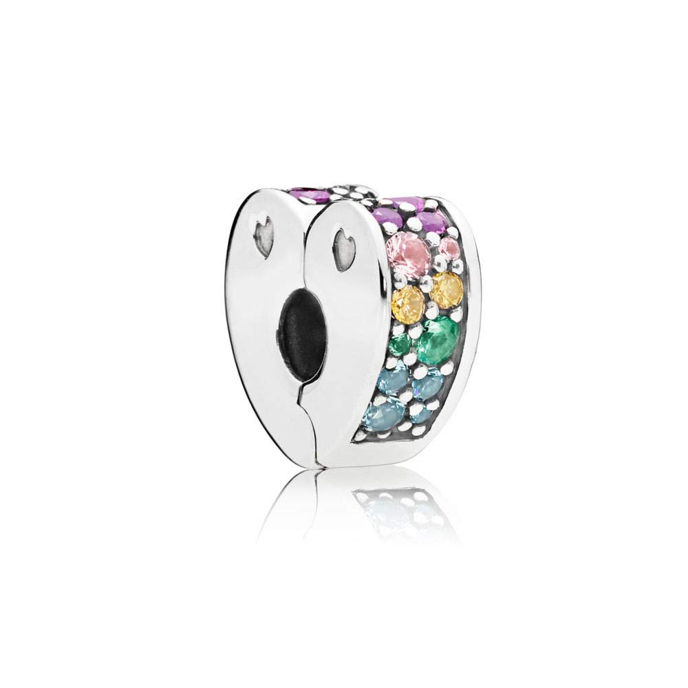 PANDORA Arcs Of Love, Multi-Colored Cubic Zirconia And Crystals, 797020NRPMX