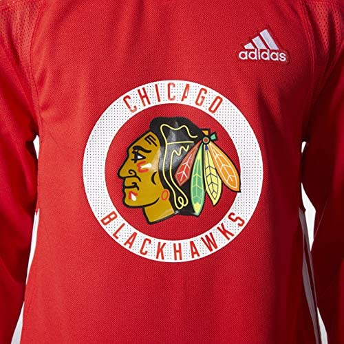 adidas Chicago Blackhawks NHL Mens Climalite Authentic Practice Jersey
