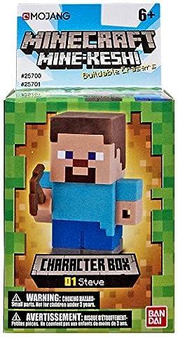 Mine-Keshi Minecraft Steve Character Box (Mini Mine Craft Characters)