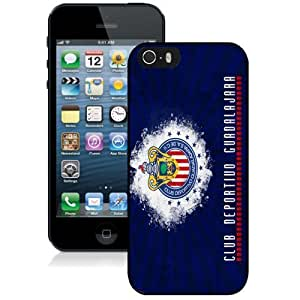 Unique DIY Designed Case For iPhone 5S With Soccer Club Chivas 05 Football Logo Cell Phone Case WANGJING JINDA