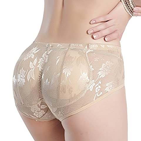 Hip pad Women Butt Lifter Padded Panty Enhancing Body Shaper breathable Seamless - Plump Sweet