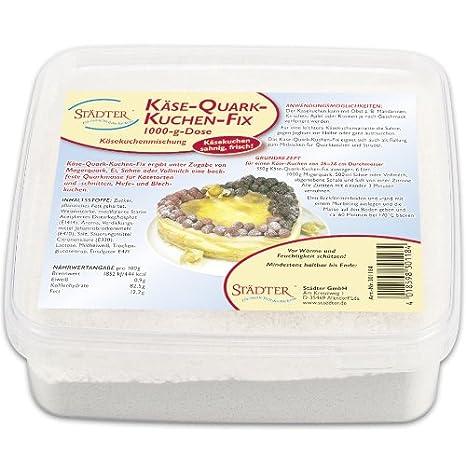 Kase Quark Kuchen Fix 1000g Ausreichend Fur 3 Kasekuchen Amazon