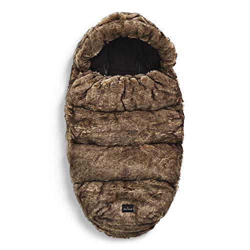 Elodie Details - Saco para cochecito de bebe con forro polar, saco y topos de pie, con capucha extraible