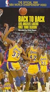 Amazon.com: La Lakers: 87-88 Back to Back [VHS]: NBA