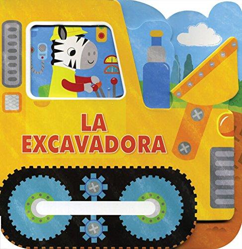 Libros para bebes vehículos de cartón. La excavadora: libros para Bebes Vehículos de carton: La excavadora