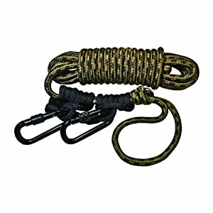Hunter Safety System Lifeline Safety Harness with 2 Prussic Knots