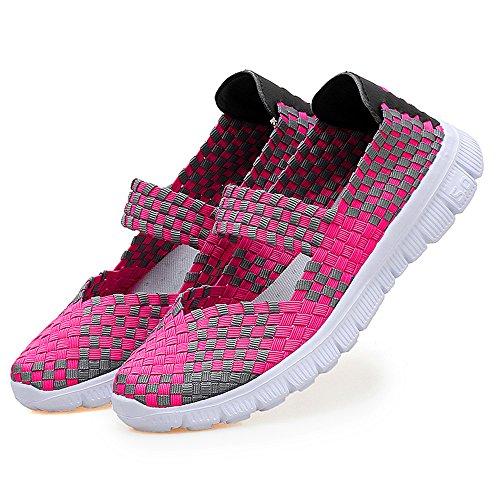 AIRAVATA Rosa para Mujer SH075 Zapatillas arOSq4a