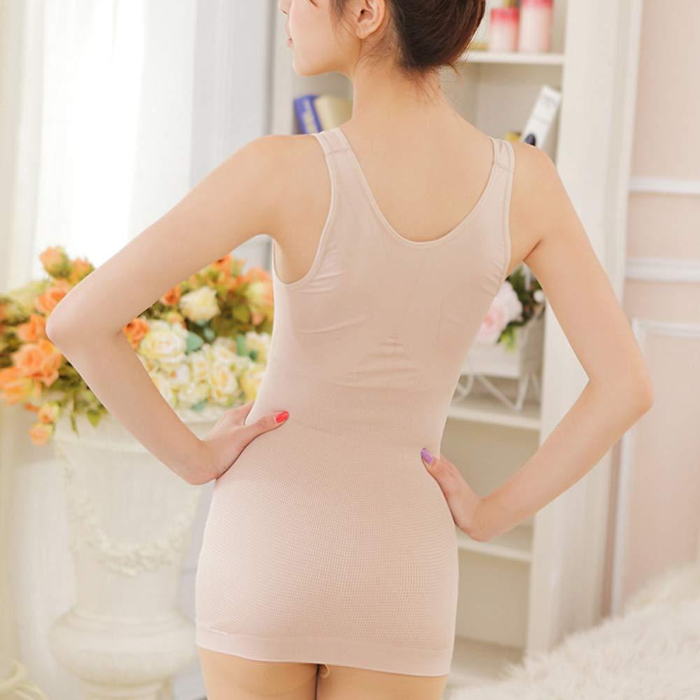 PengGengA Mujer Camiseta Moldeadora Faja Adelgazante C/ómodo Sin Costuras Body Shaper