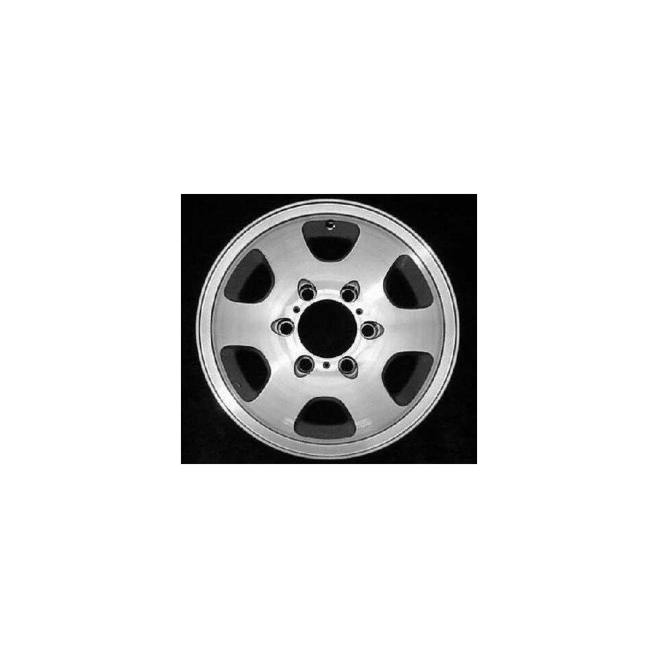 94 95 HONDA PASSPORT ALLOY WHEEL RIM 15 INCH SUV, Diameter 15, Width 6 (6 HOLE), MACHINED FACE, 1 Piece Only, Remanufactured (1994 94 1995 95) ALY64202U10