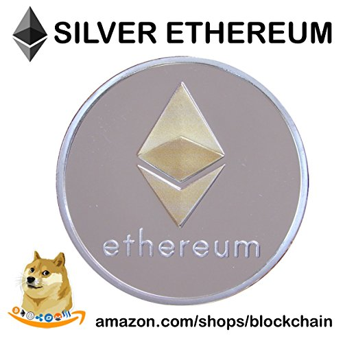Ethereum Coin   Gold   Silver Plated  Cryptocurrencies You Hold