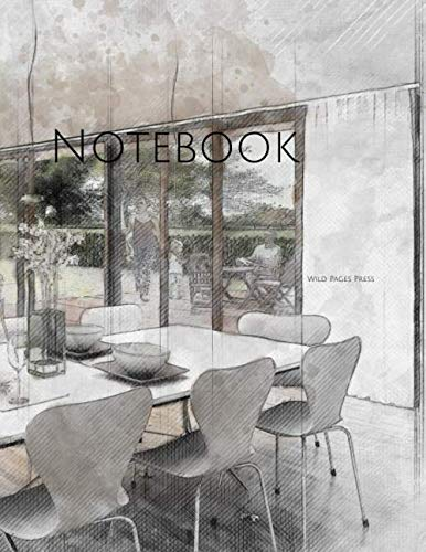 Notebook: interior sketch design drawing home architecture designing by Wild Pages Press