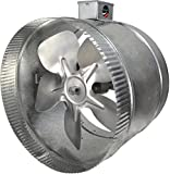 10 inch inline duct booster fan - Suncourt 2-Speed 10