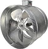Suncourt 2-Speed Inductor Inline Duct Fan, 10 Inch
