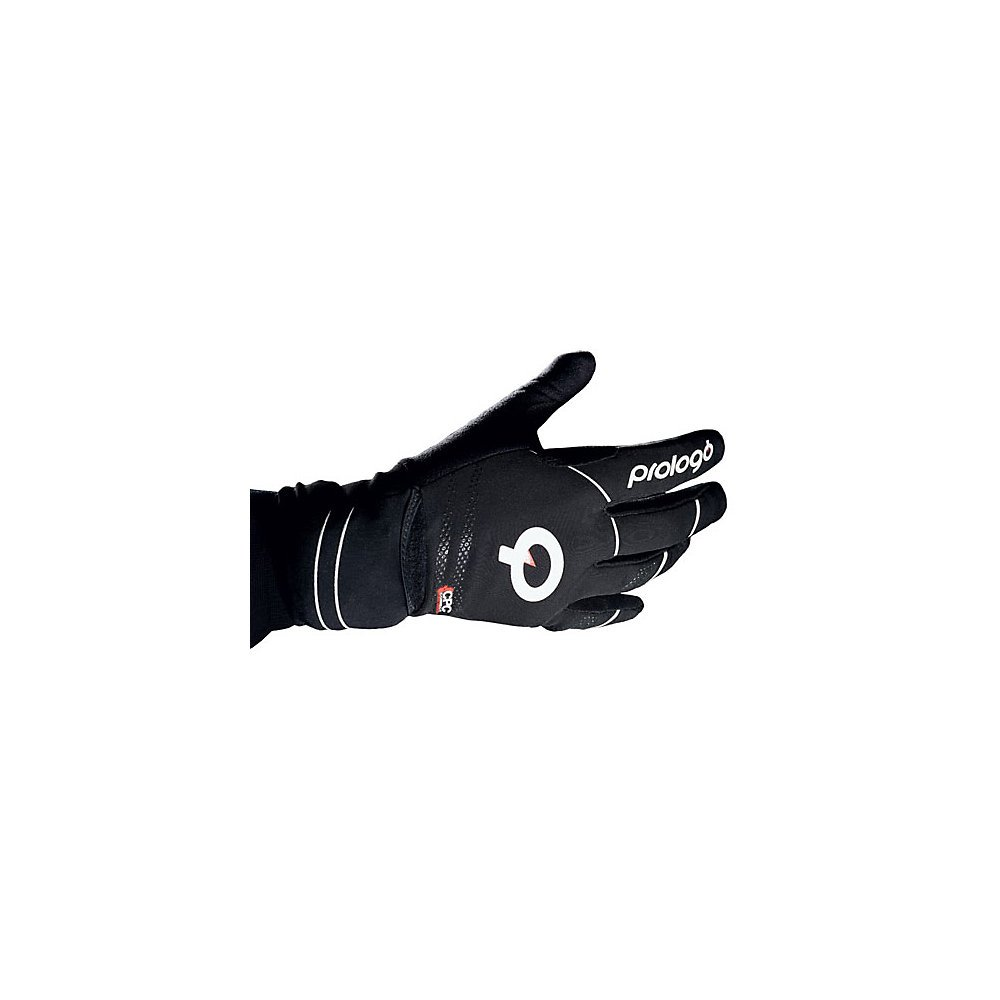 Prologo Winterhandschuhe M Untergrund, es Logo Handschuhe, weiß Schwarz, M