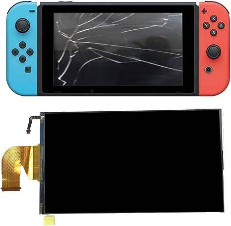 Pantalla LCD de Repuesto para Nintendo Switch, Accesorios de Repuesto Perfectmall, Pantalla LCD, Montaje de Vidrio para Consola NS Sistema de Videojuegos: Amazon.es: Electrónica