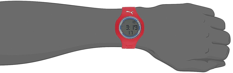 Puma Time Montre Quartz Affichage Digital Mixte